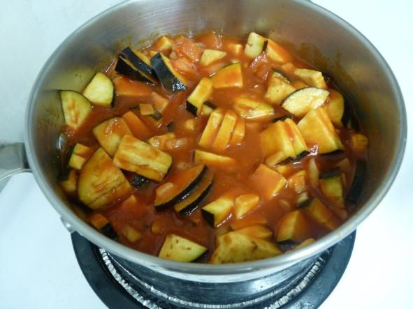 Eggplant stew cook sm